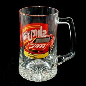 Large Slim Jim racing team beer mug EUC